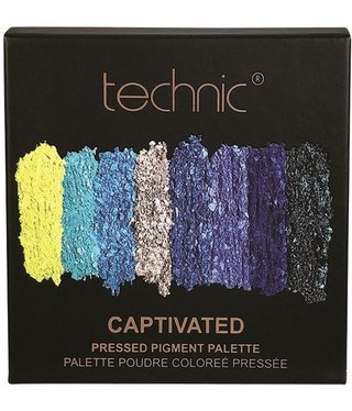Technic Technic - Pressed Pigment Eyehadow Palette - Captivated
