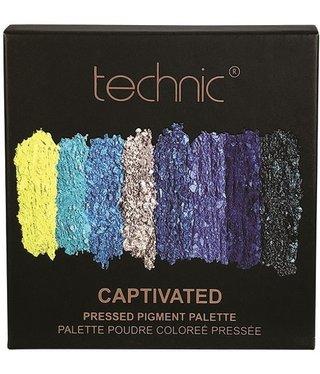 Technic Technic - Pressed Pigment Eyehadow Palette - Captivated