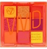 W7  W7 - Vivid Pressed Eyeshadow Palette - Outrageous Orange