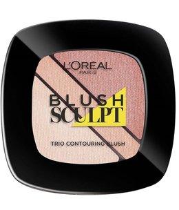 Loreal Loreal - Infallible - Blush Sculpt Trio Contouring Blush - 101 Soft Sand