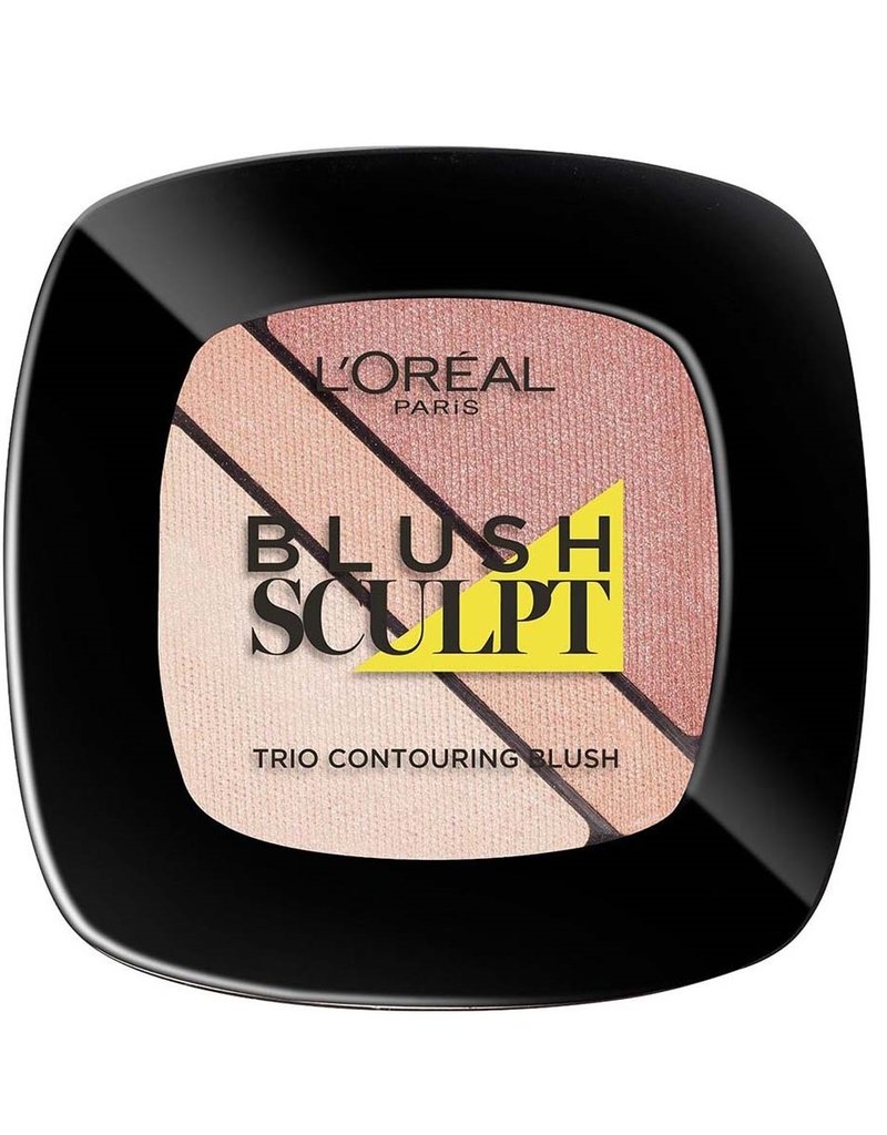 Loreal Loreal - Infallible - Blush Sculpt Trio Contouring Blush - 101 Soft Sand