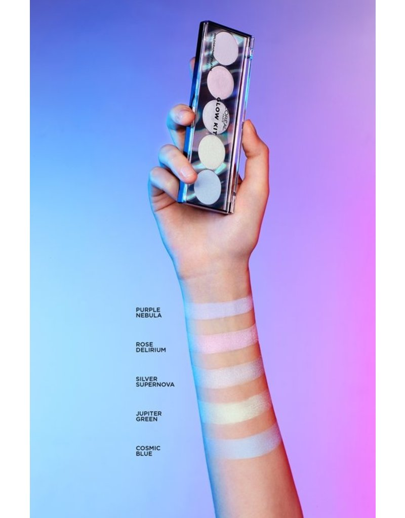 Loreal Loreal - Highlighter Glow Kit - Holograpic Palette