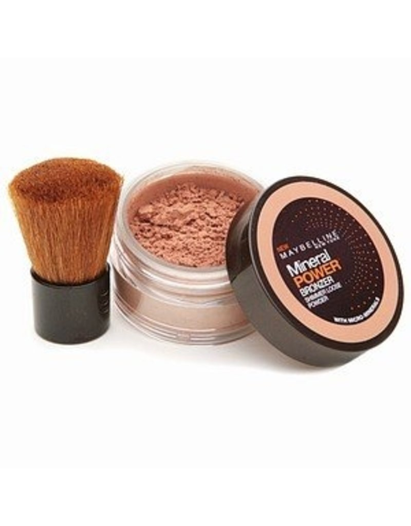Maybelline Maybelline - Pure Mineral Loose Powder - Sienna - incl. Kabuki Brush