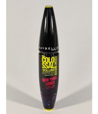 Maybelline - Volum'Express New York Looks Mascara - 100% Black