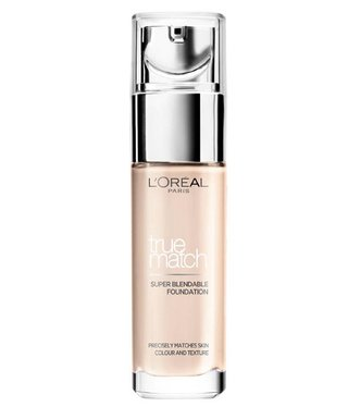 Loreal Loreal - True Match - Super Blendable Foundation - R1/C1 Rose Ivory