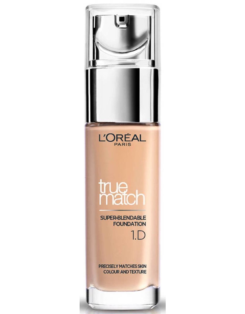 Loreal Loreal - True Match - Super Blendable Foundation - D1 / W1 Golden Ivory