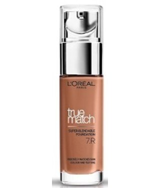 Loreal Loreal - True Match - Super Blendable Foundation - R7 / 7C Rose Amber