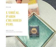 Loreal - Crushed Foil Metallic Eyeshadow - 22 Crushed Stone