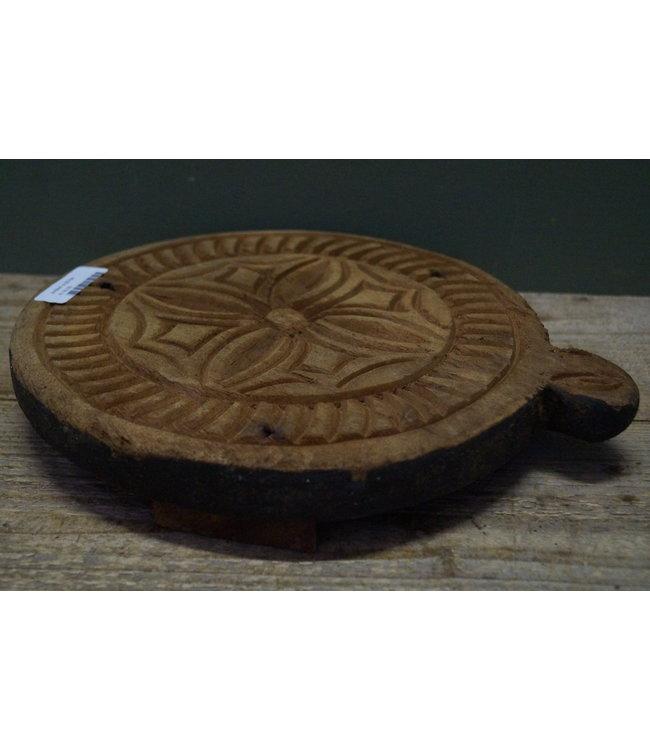 B784 - Raja wooden carving chaklota