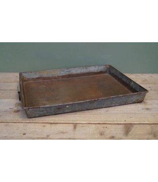B510 - tray vierkant metaal