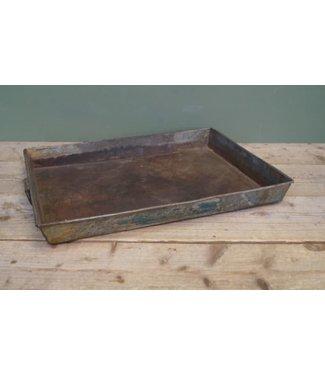 B509 - tray vierkant metaal