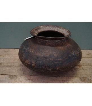 Indische metalen kookpot 3