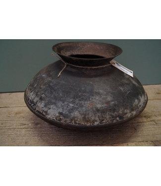 Indische metalen kookpot 6