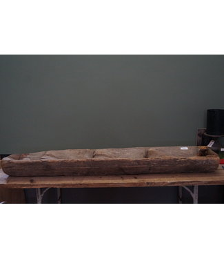 houten trog 1 - alleen afhalen/wordt niet verzonden