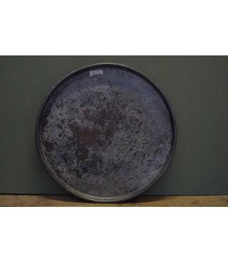 B735 - Metalen dienblad rond