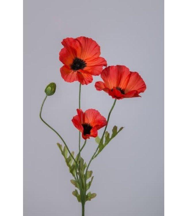 # Z116 - Klaproos rood 63 cm