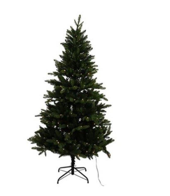 Kerstboom m/180LED Fredy L groen