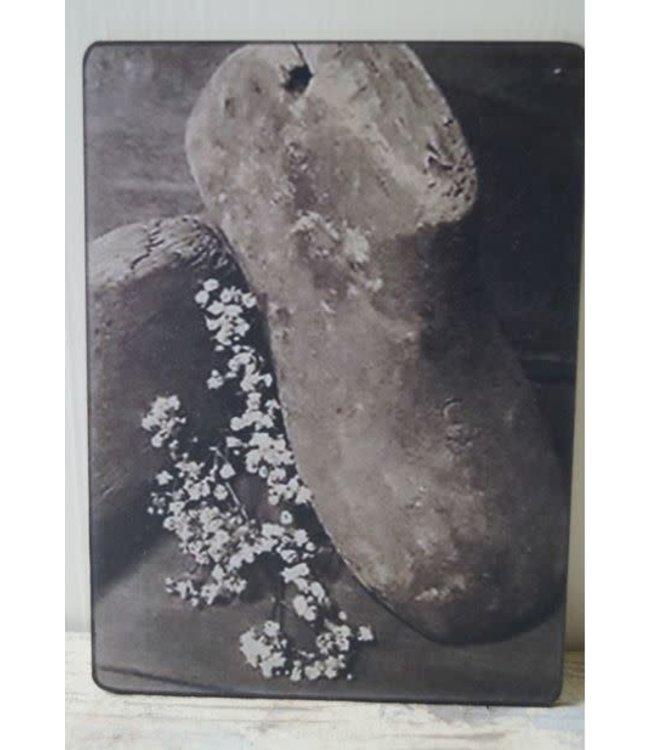 # W210 - Afbeelding schoenmal 14 x 19 cm