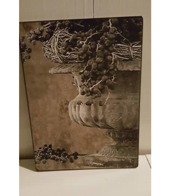 # E745 - Afbeelding oorvaas dadels - 14 x 19 cm
