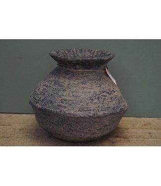 *Rattan Clay pot 5