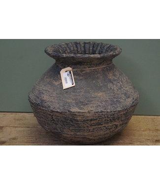 # Rattan Clay pot 4