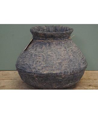 *Rattan Clay pot 3