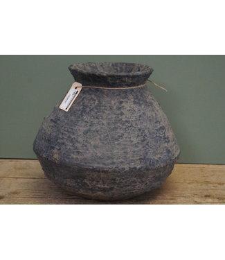 # Rattan Clay pot 2