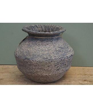 *Rattan Clay pot 1