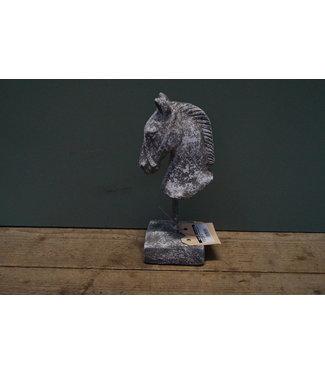 # Paardenhoofd Incus S grijs -  11 x 10 x 26,5 cm