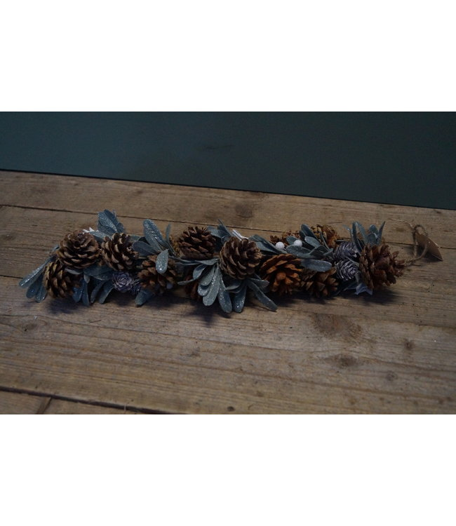 *Hanger mistletoe bani bruin 8 x 8 x 59 cm