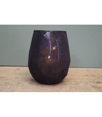 * vaas ro moya L Zwart - 13 x 13 x 18 cm