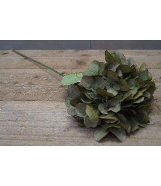 *W457 - hydrangea - kunst - 10 x 10 x 48 cm