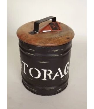 *R769 - Storagebox medium - metaal - 20 x 25 cm