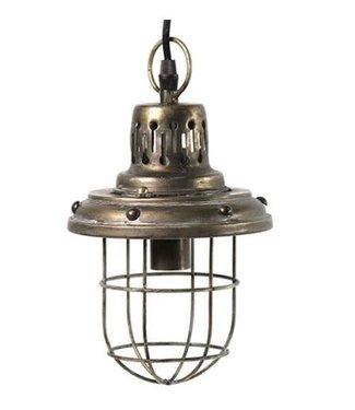 *Hanglamp E14 Onion grijs - L15,5B15,5H315CM