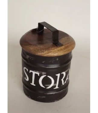 *R768 - Storagebox Small - metaal - 16 x 22 cm