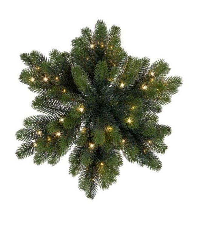 Winnipeg ster micro buiten - 50 cm - 50 lamp - groen - warm wit