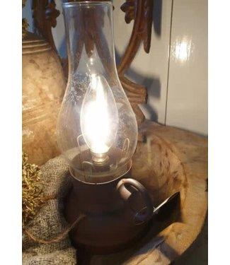 *A054 - Led lamp - op batterij - 13 x 10 x 22 cm