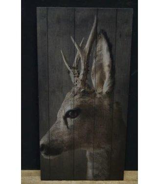 *J298 - afbeelding op hout - 15 x 30 cm