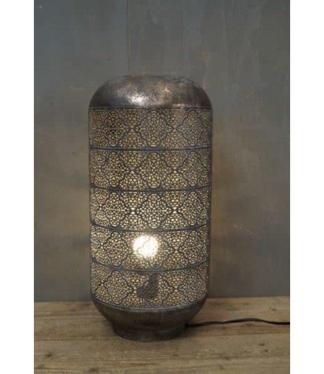 # W934 - Lamp - metaal - 23 x 23 x 48 cm