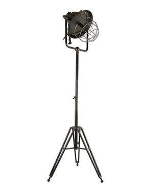 *Lamp Chloë donker grijs - l51,5b45,5h138cm