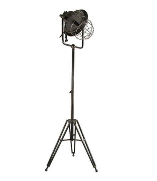 # Lamp Chloë donker grijs - l51,5b45,5h138cm