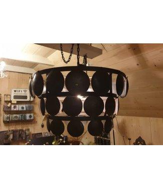 *A389 - Lampenkap - schijfjeslamp - 50 cm doorsnede - metaal
