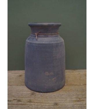 *A117 - Kruik - claypot - (per stuk) - steen - 17 x 17 x 25 cm