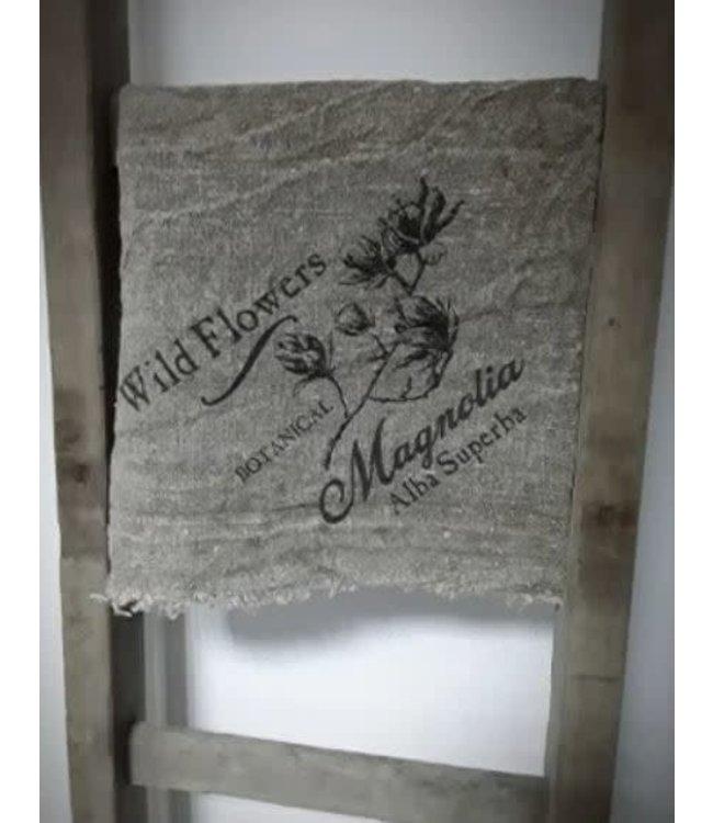 ## E780- Doek Shabby Magnolia - 45 x 45 cm