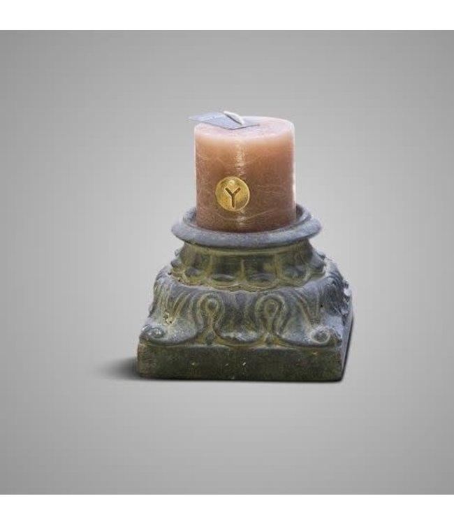 # Brynxz - Kandelaar - aardewerk -  D.15 H.10 - excl kaars