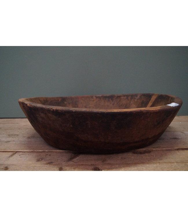 # Ronde houten schaal - 9 - 57 x 15 cm