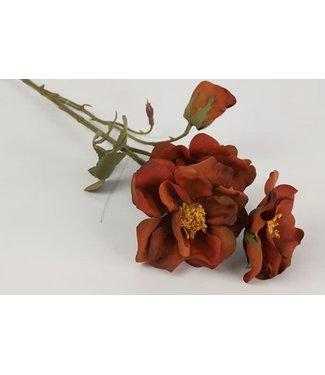 *rosa rood - 16 x 16 x 63 cm