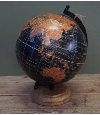 *R759 - Globe - wereldbol - 22 x 22 x 30 cm