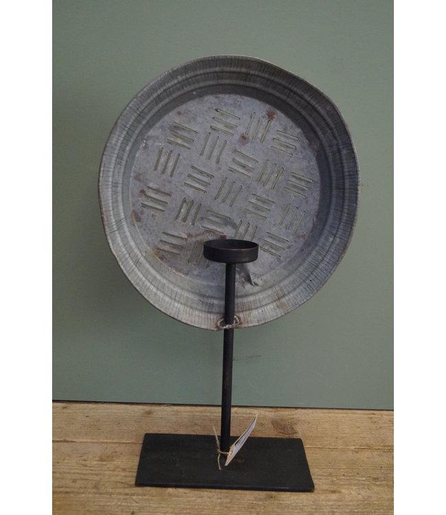 # waxinestandaard vintage - 4 - 21 x 13 x 50 cm