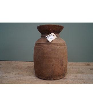 Nepalese houten pot - 5 - 20 x 30 cm